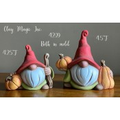 Two Gnomies with Pumpkins Mold