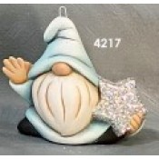 Gangbuster Gnomie Onrament with Star Right Mold