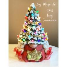Clay Magic 4230 Lady Tannenbaum Gnome Mold
