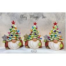 Clay Magic 4232 Gangbuster Tannenbaum Gnome Mold
