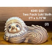 Two Pack Luki Sloth mold