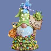 Aripine Welcome Gnome mold