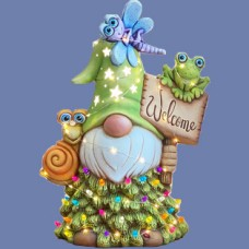 Clay Magic 4247 Aripine Welcome Gnome Mold