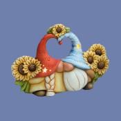 Sunflower Lover Gnome Mold