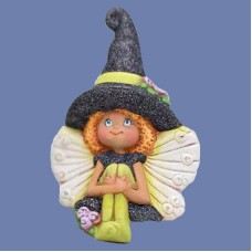 Clay Magic 4276 Gangbuster Zoe Fairy Witch (Sitting) Mold
