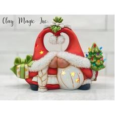 Clay Magic 4277 Claus Gnome Kissers Mold