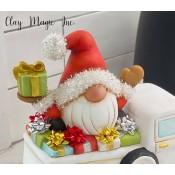 Santa Gnome for Pickup Mold