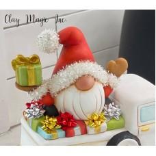 Clay Magic 4278 Santa Gnome for Pickup Mold