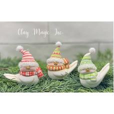 Clay Magic 4285 Birdie Gnomes Mold