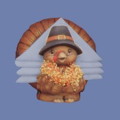 Pilgrim Turkey Napkin Holder Mold