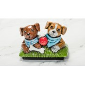 Puppies Topper Mold