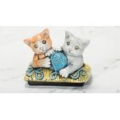 Kittens Topper Mold
