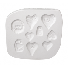 Hearts O' Clay Sprig Mold