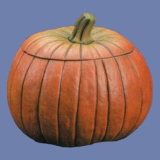 """Doc Holliday DH-801 Large 8"""" Pumpkin with Lid Mold"""