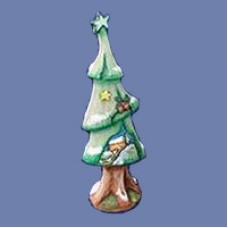 Doc Holiday 2906 Medium Christmas Tree Mold