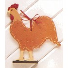 Tole Silhouette Rooster mold
