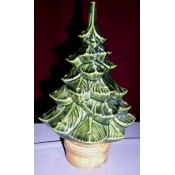 "Christmas Tree, 9"" (Top Only) Mold"