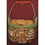 Half Bucket with Gingerbread, Tree mold