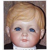 Medium Big John Doll Head mold