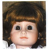 Debbie Doll Head mold