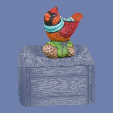 Mayco CD-039 Songbird Lid Topper Mold