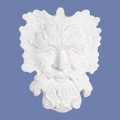 Earth Face Plaque castable mold
