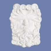 Wind Face Plaque Mold
