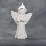 Small Weathered Wood Angel Mold