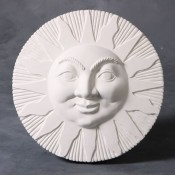 Sun Face Plaque Mold
