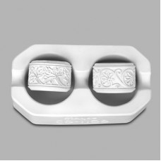 Mayco CD-1156 Leaf & Flower Motifs Continuous Design Press Tools