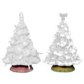 Shenandoah Pine Tree Bases (Set of 2) Mold