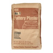 No. 1 Pottery Plaster 50 lbs.