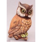Owl Plaque Left mold