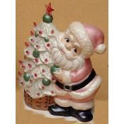 Santa Beside Tree Mold