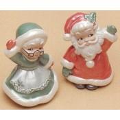Mr. & Mrs. Santa Mold
