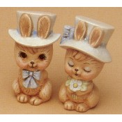 Bunnies WIth Hats Mold