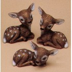 Three Small Deer Mold
