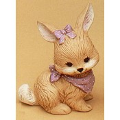Bunny with Scarf #2 Mold