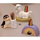 Unicorn, Rainbow, Penguin Toothpick Mold