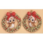 Owl Ornaments (2 per) Mold