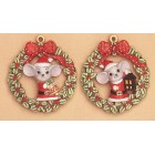 Mice Ornaments-Bell & Lantern Mold