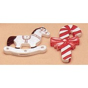 Plain Ornaments-Horse & Candy Cane Mold
