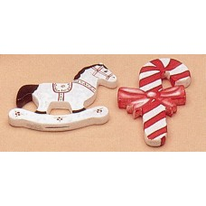 Riverview 422 Plain Ornaments-Horse & Candy Cane Mold