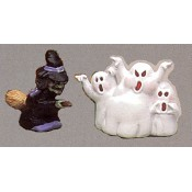 Witch and Ghost Mold