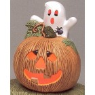 Pumpkin with Ghost Mold