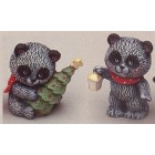 Bears-Lantern & tree Mold