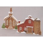 Church & Barns Ornaments Mold