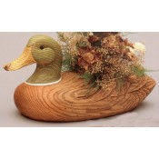 Decoy Duck Planter Mold