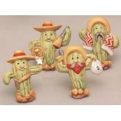 Cactus Cowboy Magnets (4 per) Mold