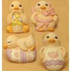 Duck Magnets (4 per) Mold